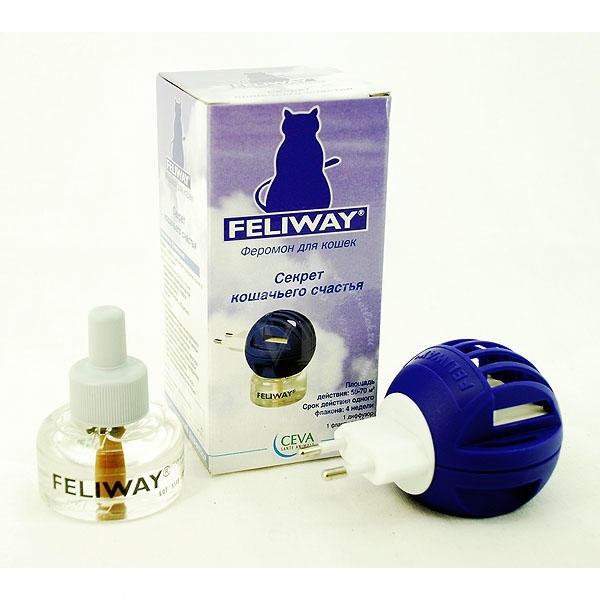 Синтетический феромон Feliway против течки