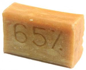 Хозяйственное мыло вблизи