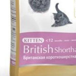 Корм для британскиъх котят