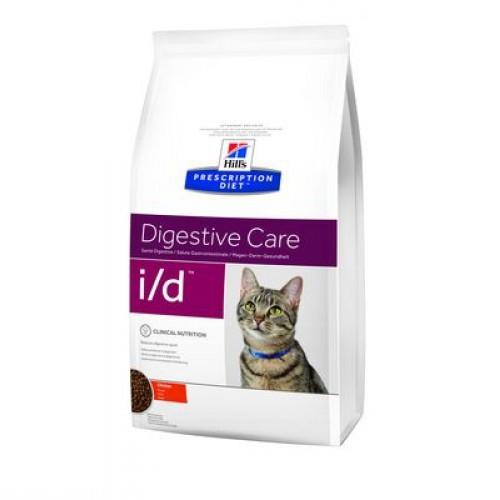 Пакет специального корма для кошек при поносе и диарее