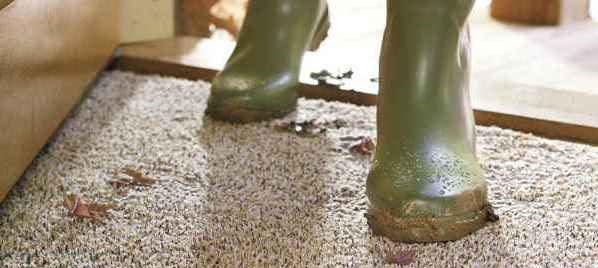 Грязная обувь в прихожей