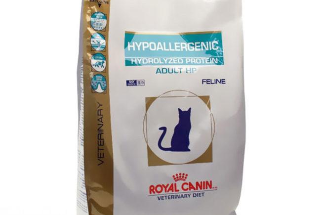 Гипоаллергенный корм Royal Canin Hypo HP для кошек с диетой