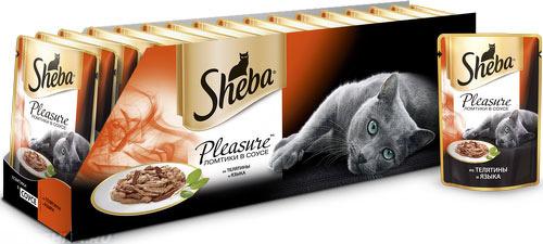 Упаковка сухой корм для кошек Sheba