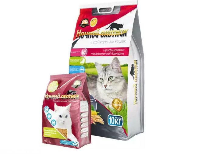 Специальный сухой корм для кота при мочекаменной болезни