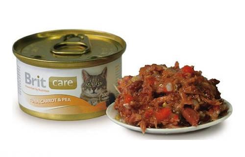 Влажный корм для кошки в виде консервов