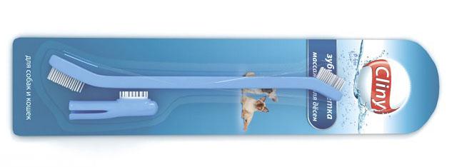 Специальная зубная щётка для чистки зубов кота