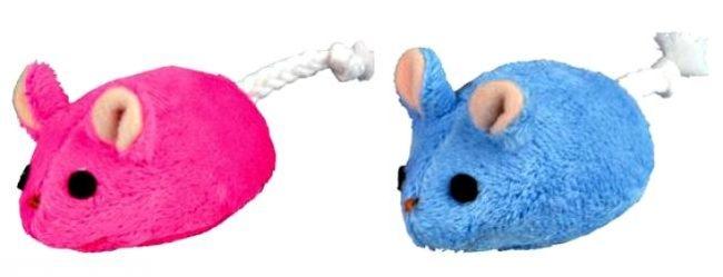 Игрушечные мышки для кота