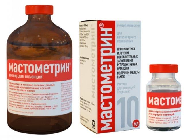 Раствор для инъекций мастометрин