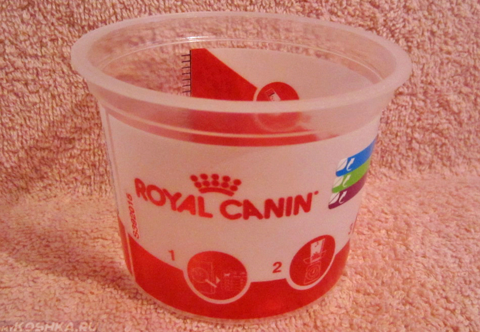 Стакан мерный корм royal canin