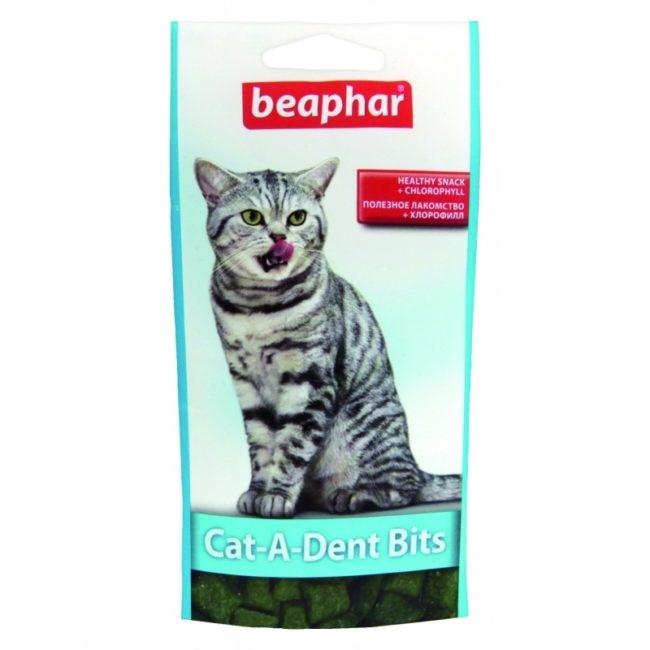Подушечки для очищения пищеварительной системы у кошек