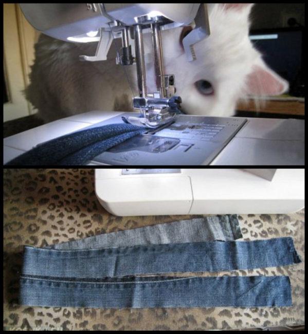 Изготовление поводка для шлейки для кошки