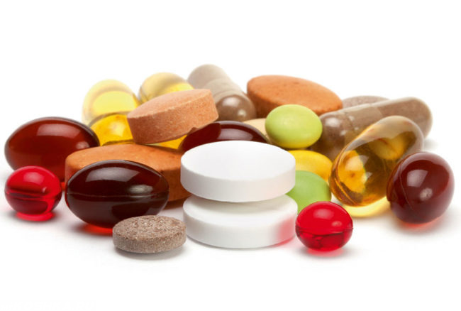Витаминный комплекс в виде таблеток