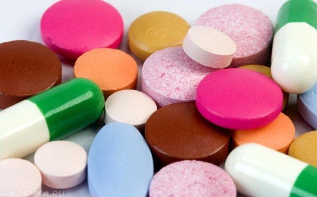 Разноцветные анальгетики
