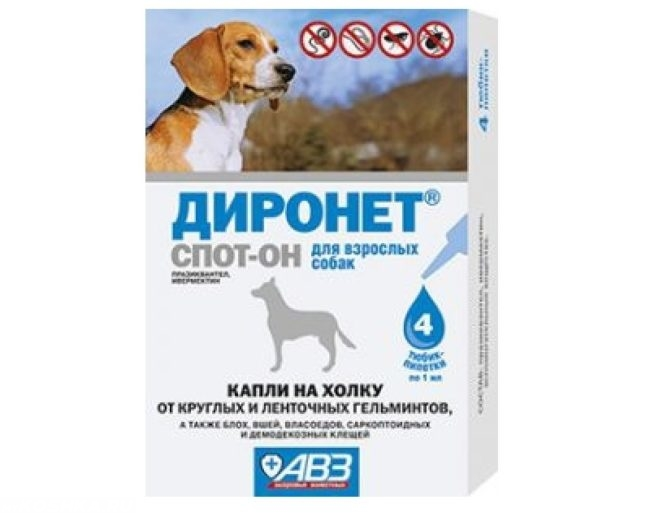 Препарат диронет abЗ