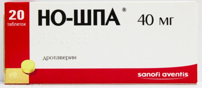 Препарат но шпа в виде таблеток