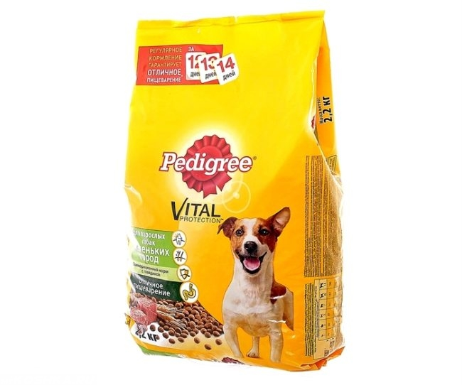 Сухой корм педигри для собак