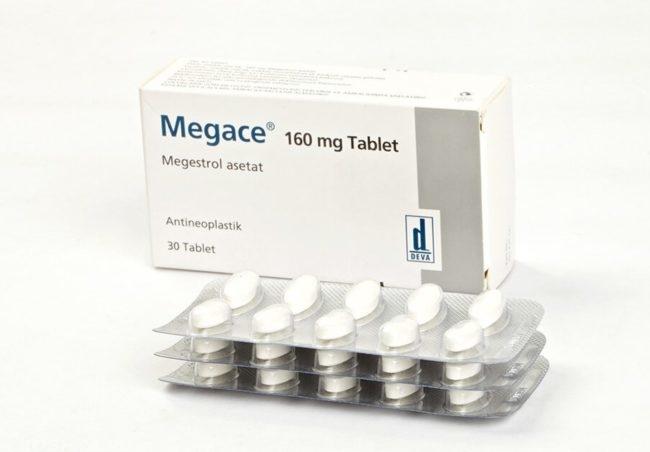 Препарат мегестрол ацетат