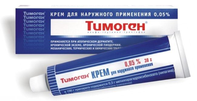 Крем для наружного применения тимоген
