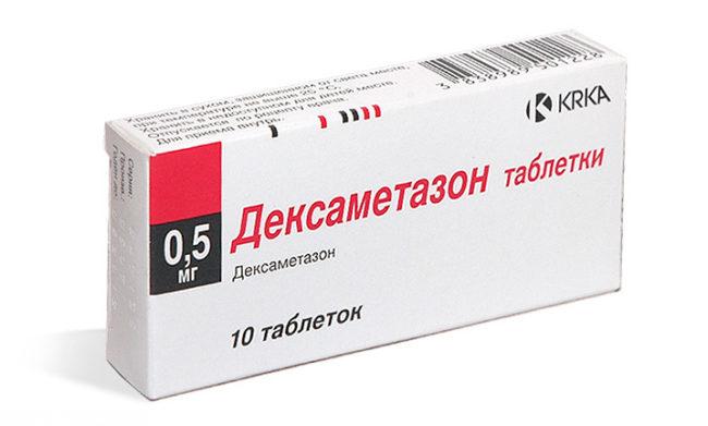 Препарат дексаметазон в таблетках