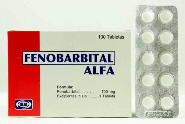 Препарат фенобарбитал в виде таблеток