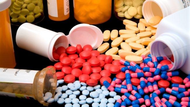 Разноцветные антибиотики