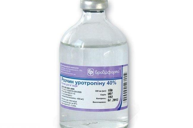 Препарат уротропин в баночке